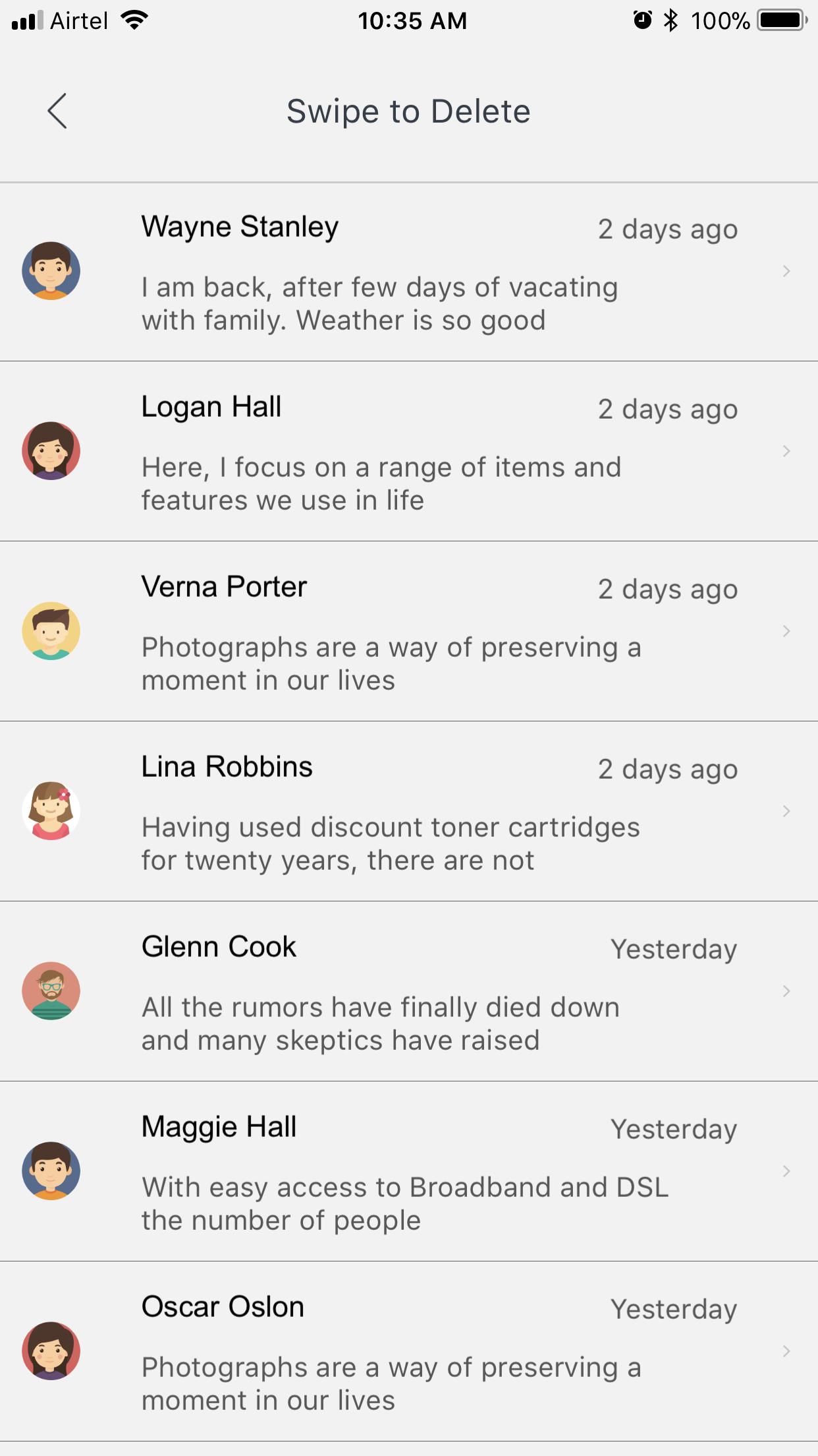 Segment Widget Feature App - Screen-Thumbnail