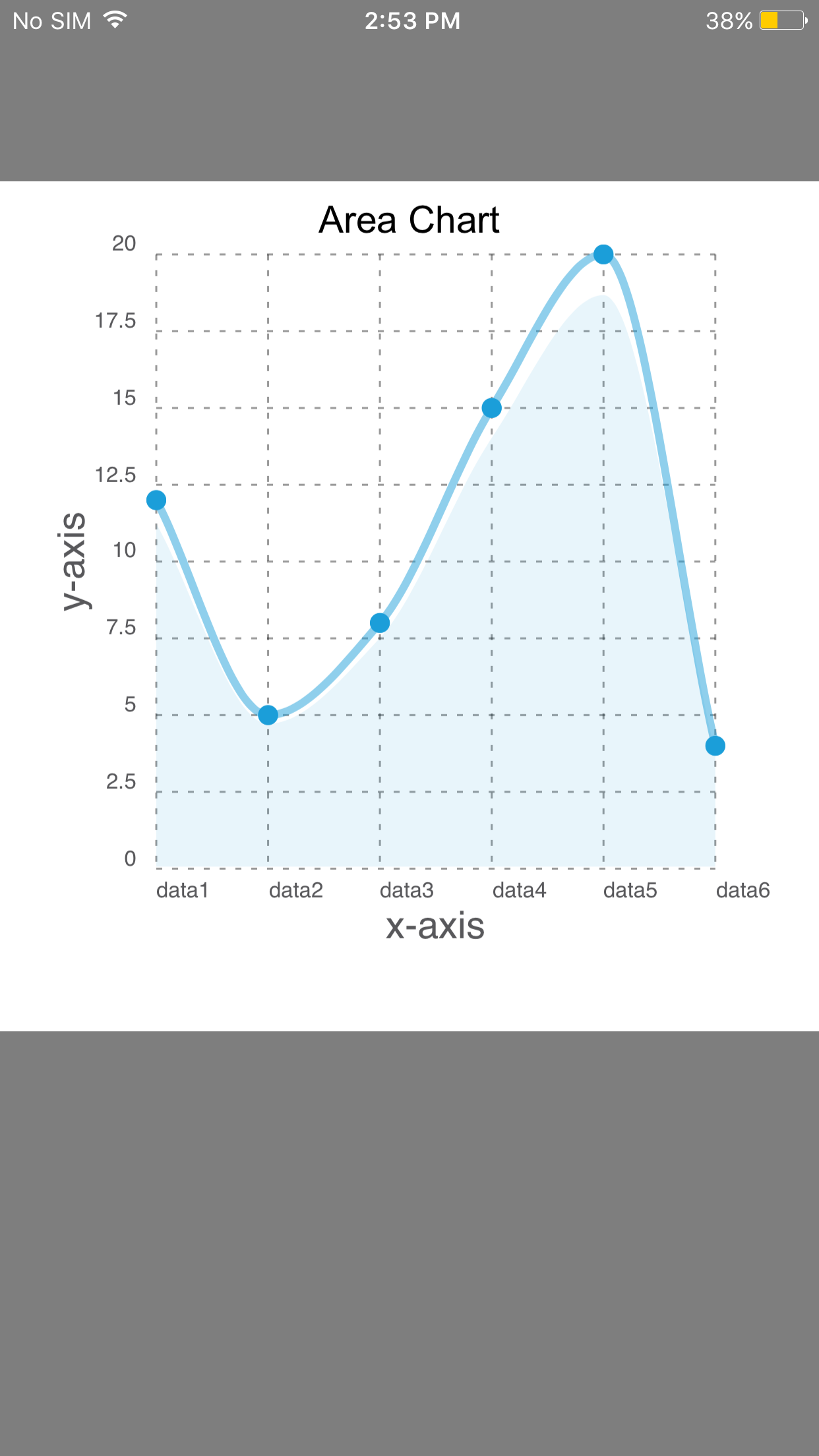 Line Chart with Area - Screen-Thumbnail