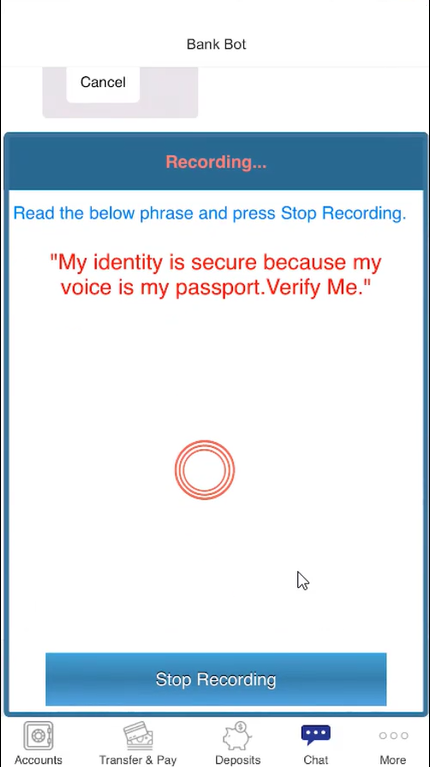 Daon Voice Authentication - Screen-Thumbnail