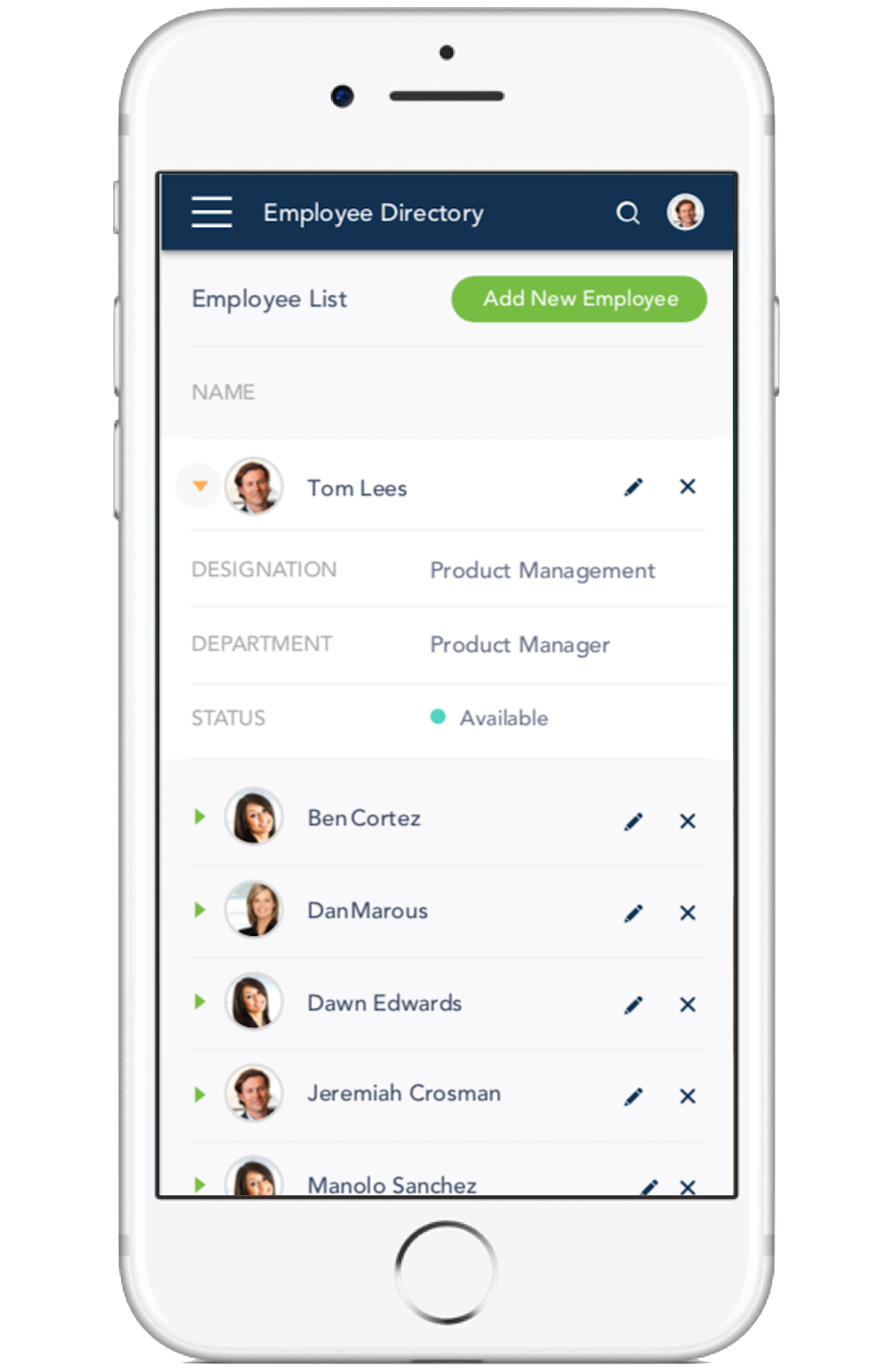 Employee Directory - Screen-Thumbnail
