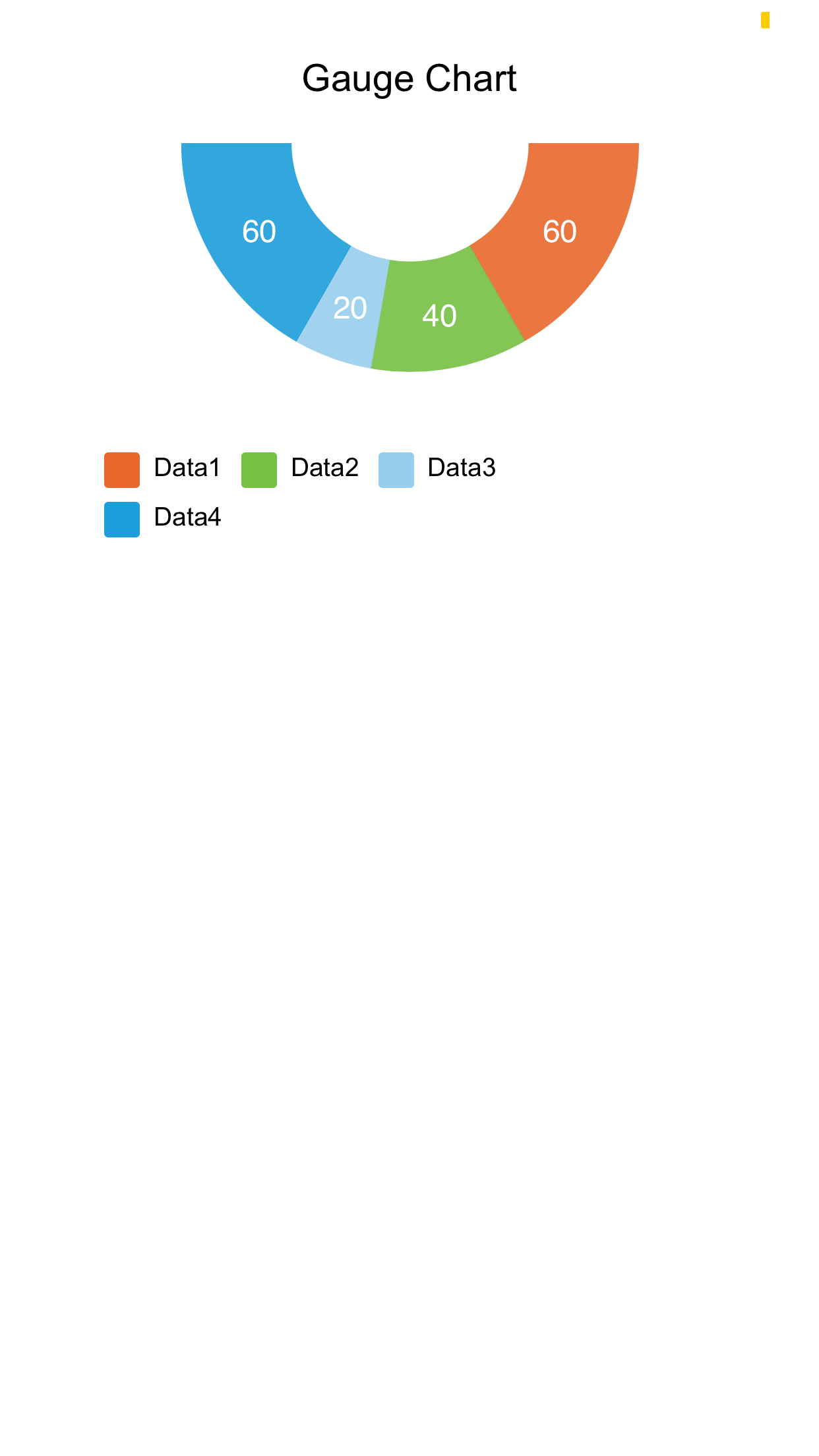 Doughnut Chart - Inverse Half Circle - Screen-Thumbnail