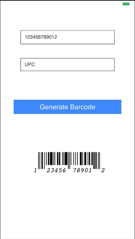 Barcode Generator - Screen-Thumbnail