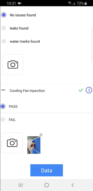 Measurements Form - Screen-Thumbnail