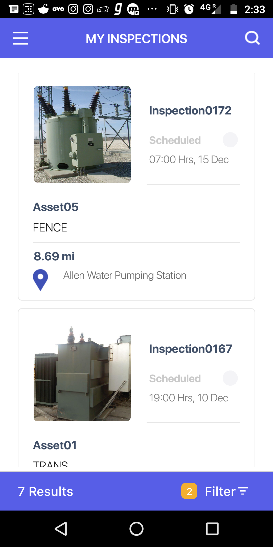Inspection MicroApp - Screen-Thumbnail