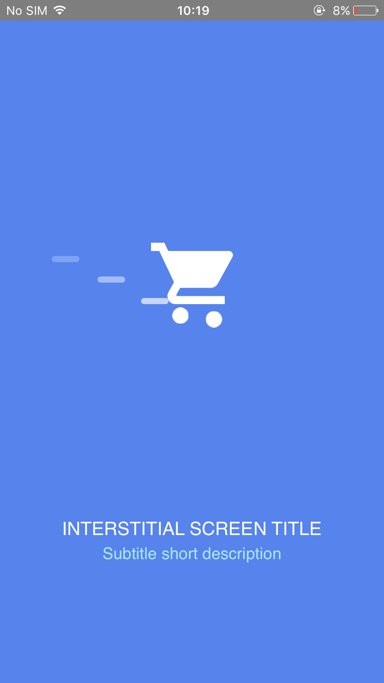 Interstitial Screen (Shopping) - Screen-Thumbnail