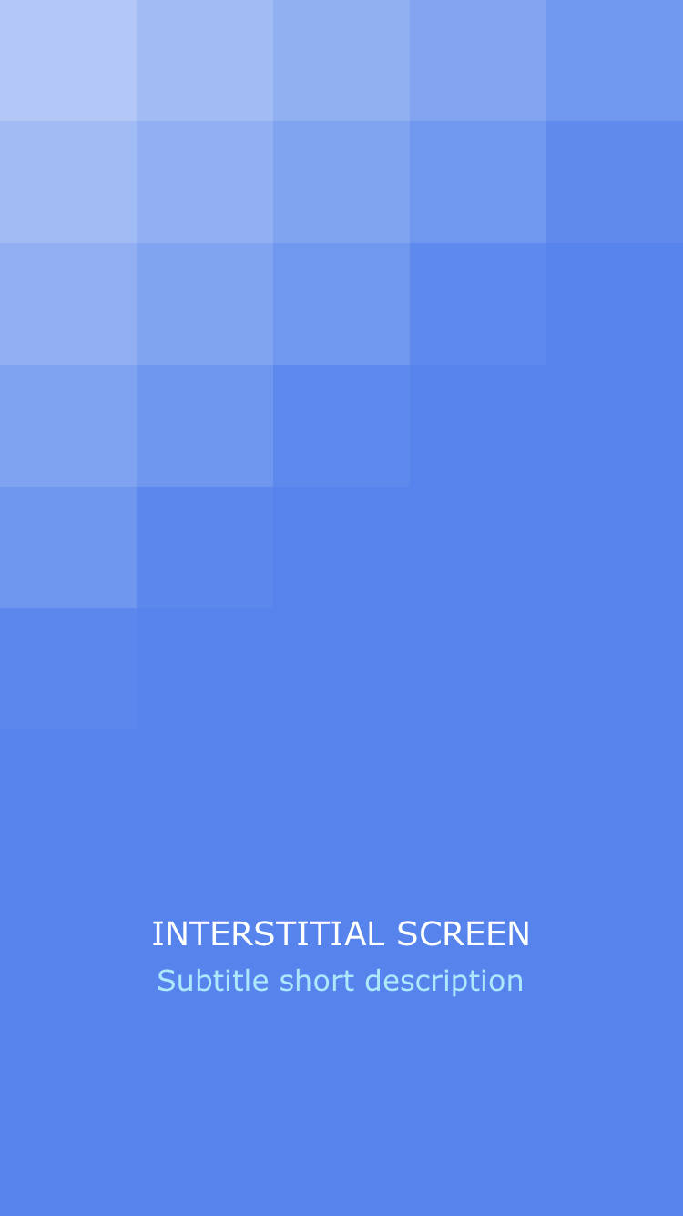 Interstitial Screen (Animated Squares) - Screen-Thumbnail
