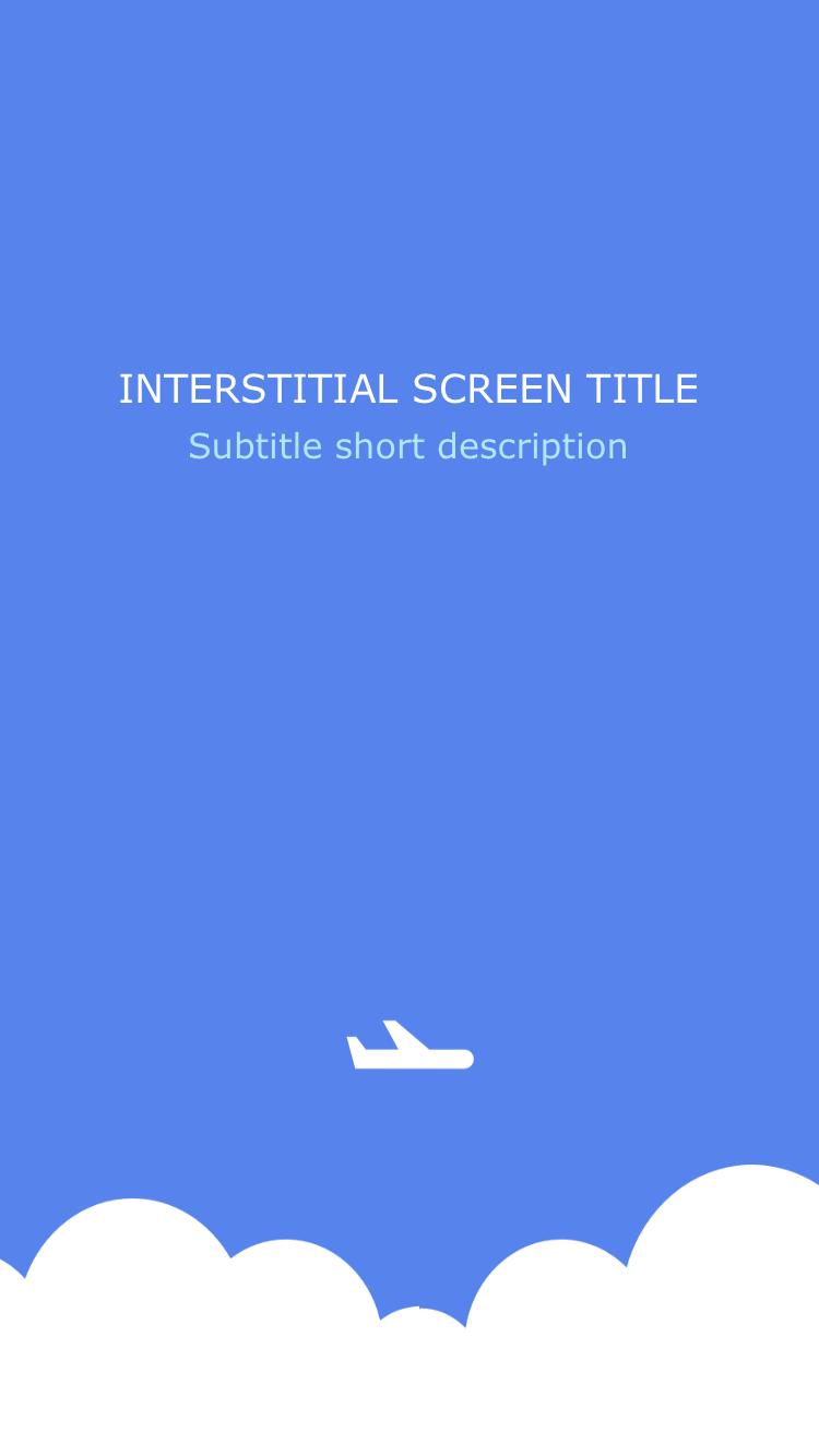 Interstitial Screen (Travel) - Screen-Thumbnail