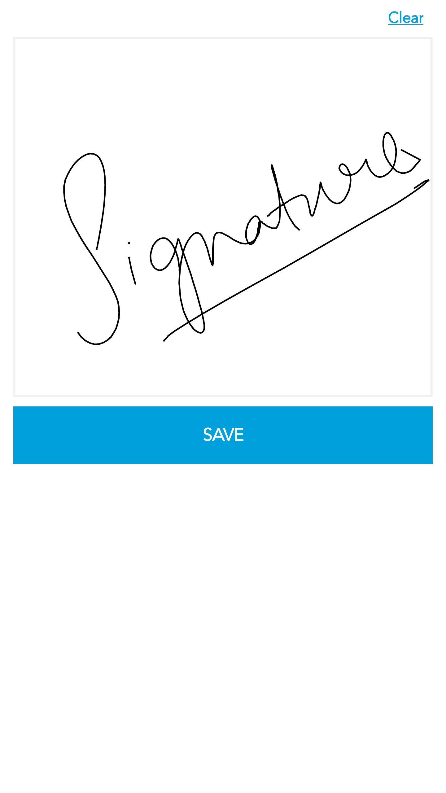 Signature Capture - Screen-Thumbnail