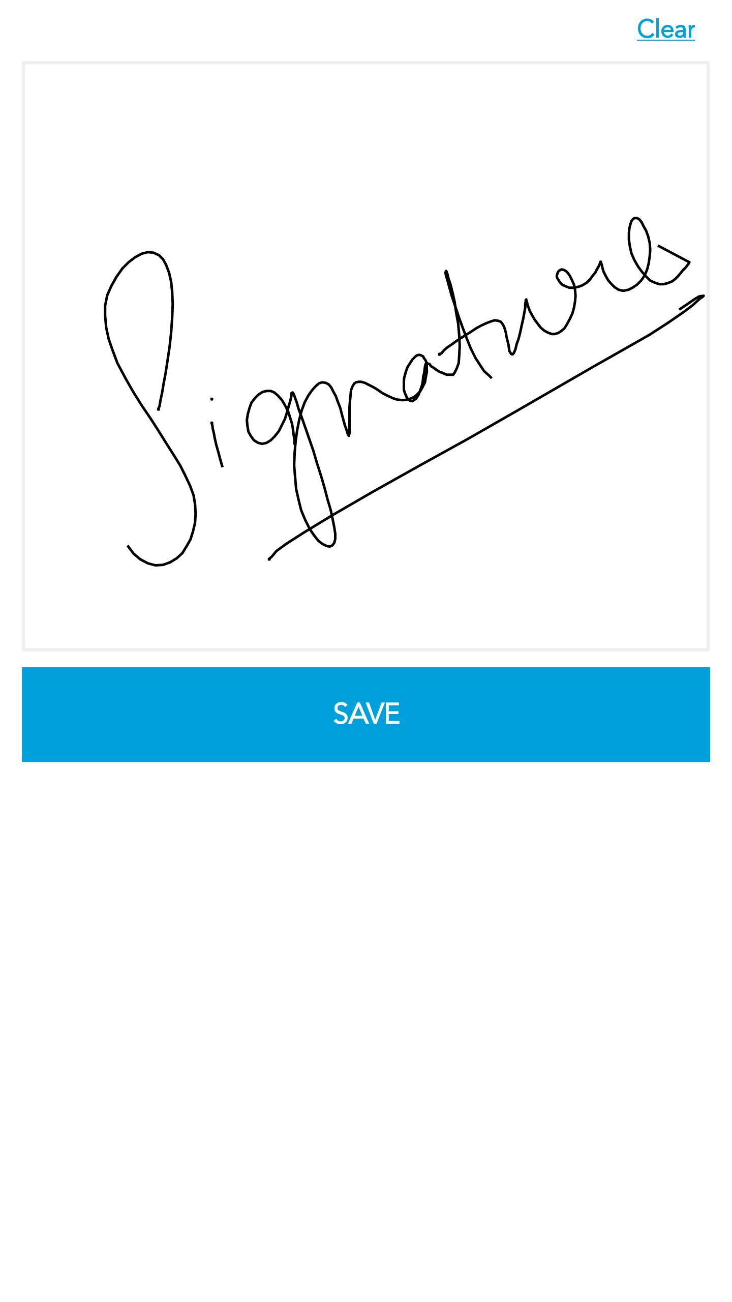 Signature Capture - Screen-Thumbnail